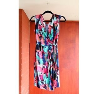 BCBG Summer wrap dress